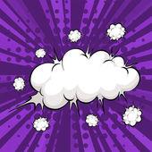 Bulle nuage — Vecteur