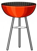 Barbecue stove — Stock Vector