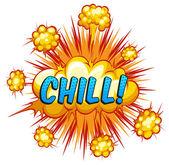 Chill — Stock Vector