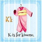Alphabet K — Stock Vector