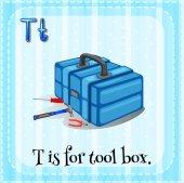 Письмо t — Cтоковый вектор