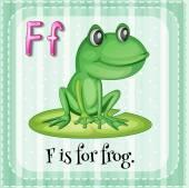 Alphabet F — Vecteur