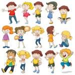 Children — Stock Vector #70362235