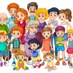 Family — Stock Vector #71284585