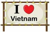 Vietnam — Stock vektor