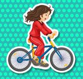 Riding  — Stock Vector