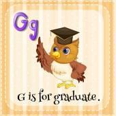 Graduate — Stock Vector
