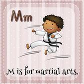Martial arts — Stock Vector