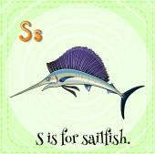 Sailfish — Stock vektor