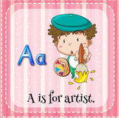 Artist — Stock Vector