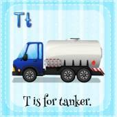 Tanker — Stock Vector