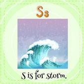 Storm — Stock Vector