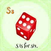 Letter S — Stock Vector