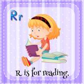 Reading — Stock Vector