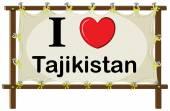Tadżykistan — Wektor stockowy