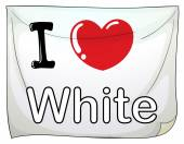White — Stock Vector