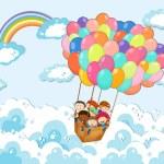 Balloons — Stock Vector #76523495