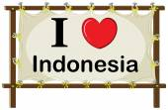 Indonesië — Stockvector