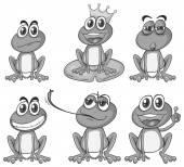 Kurbağalar — Stok Vektör