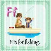 釣り — ストックベクタ