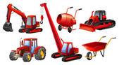 Tractors — Stock Vector