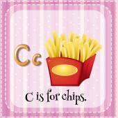 Letter C — Stock Vector