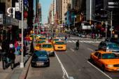 纽约街头. — 图库照片