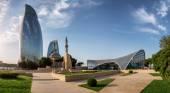 City view of Baku — 图库照片