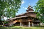 Wooden church in Russia. — Stock Photo