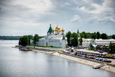 Ipatievsky monastery in Russian town Kostroma. — Stock Photo