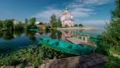 Pereslavl-Zalessky town in Russia. — Stock Photo