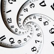 Twisted clock face — Stock Photo #58442559