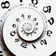 Twisted clock face — Stock Photo #58442561