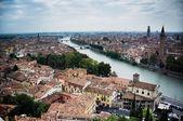 Verona from above. — Stock Photo