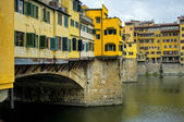 Ponte Vecchio in Florence — Stock Photo