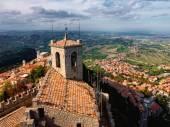San Marino town — Stock Photo