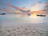 Tropical sunrise — Stock Photo