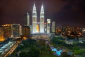 Kuala Lumpur Petronas Towers — Stock Photo