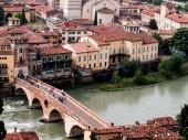 Ponte Pietra in Verona — Stock Photo