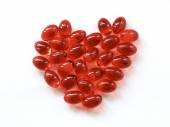 Red pills — Stock Photo