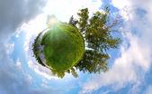 Summer Planet — Stock Photo
