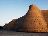 Bukhara Ark wall. — Stock Photo