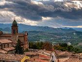 Verucchio town — Stock fotografie