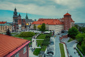 Wawel castle in Krakow. Poland — Stock Photo