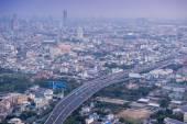 Bangkok manzarası için Lebua At State Tower 59 kattan görüntülemek — Stok fotoğraf