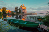 Russian provincial town Pereslavl Zalessky — Stock Photo
