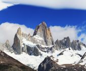 Beautiful nature landscape with Mt. Fitz Roy — Stock Photo
