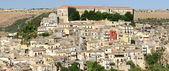 The cityscape of Ragusa — Stock Photo