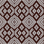 Modèle de tricot. — Vecteur