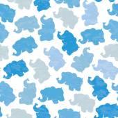 Funny baby boy pattern. — Stock Vector